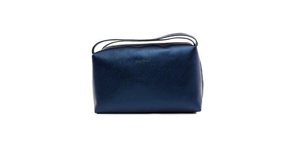 Dámská modrá metalická mini kabelka Pertegaz