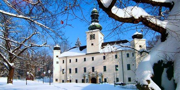 Kouzelný pobyt s wellness na zámku v Třešti