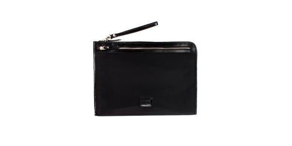 Dámská černá nylonová peněženka Pertegaz do kabelky