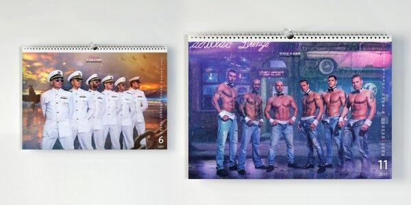 Sexy kalendář skupiny California Dreams