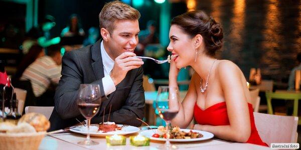 Poukaz do romantické restaurace ve výši 500 Kč