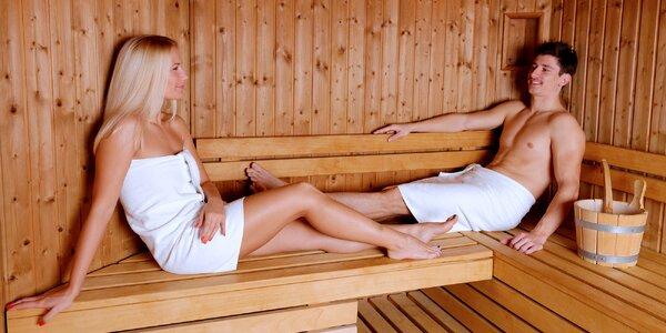 Saunování a relaxace v délce 2 hodin