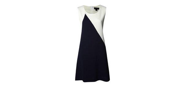 Dámské modro-bílé šaty Fever