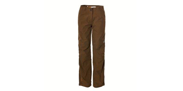 Dámské hnědé sportovní kalhoty Rejoice