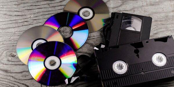 Převod videozáznamů ze starších nosičů na DVD