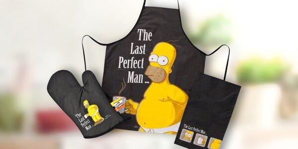S Homerem Simpsonem v kuchyni