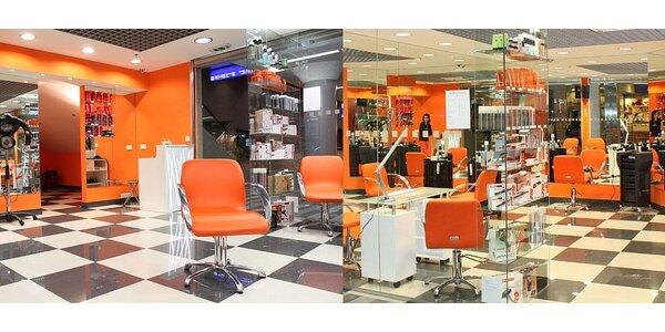 Dámské stříhání (stříhání, mytí, foukání, styling) ve stylovém salonu v centru…