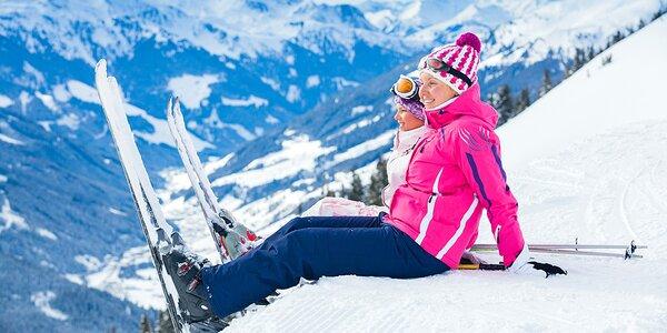 Zimní dovolená v rakouských Alpách s polopenzí+