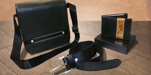 Set pro elegány: taška, peněženka a opasek