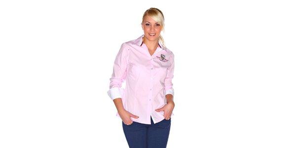 Dámská světle růžová košile M. Conte