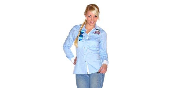 Dámská světle modré košile M. Conte