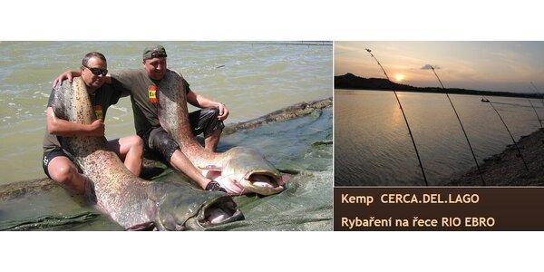 Týdenní rybářská výprava na sumce do Španělska - řeka Rio Ebro