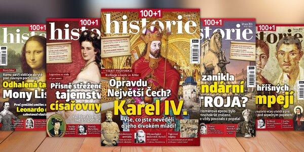 Časopis 100+1 historie, kompletní ročník 2016