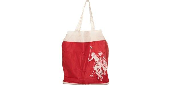Dámská červená skládací taška U.S. Polo