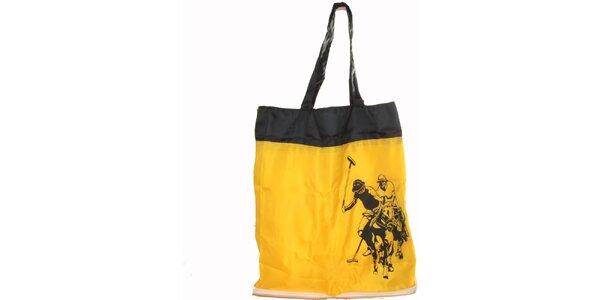 Dámská žlutá skládací taška U.S. Polo