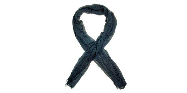 Dámský ocelově modrý šátek Nice Things