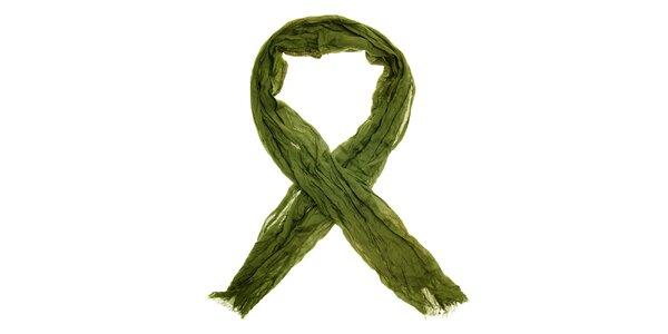 Dámský zelený šátek Nice Things
