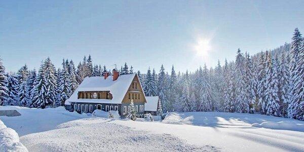 3 dny v Jizerkách s bohatou polopenzí i saunou