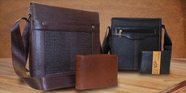 Luxusní set tašky Alex Royal a kožené peněženky