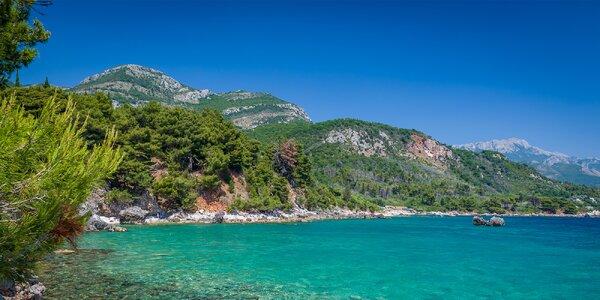 Dovolená u moře v Černé Hoře s plnou penzí