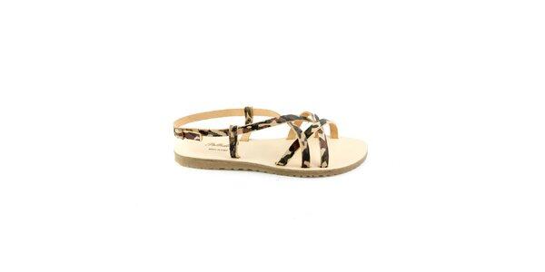 Dámské maskáčové sandály Pelledoca