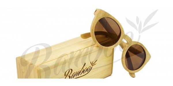Dřevěné a bambusové brýle značky Bamboo