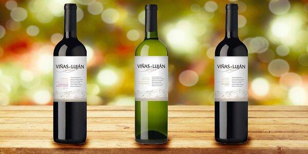 Sety 3 vín Viňas de Luján de Cuyo