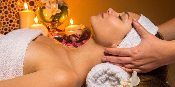 Dvouhodinová kosmetická péče o obličej, krk a dekol