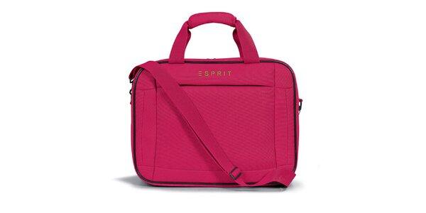 Dámská růžová taštička do letadla Esprit