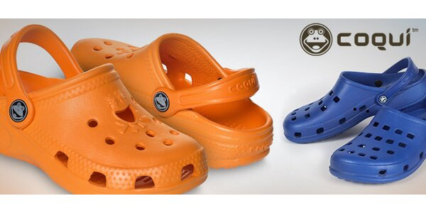 Oblíbené sandály Coqui pro děti i dospělé