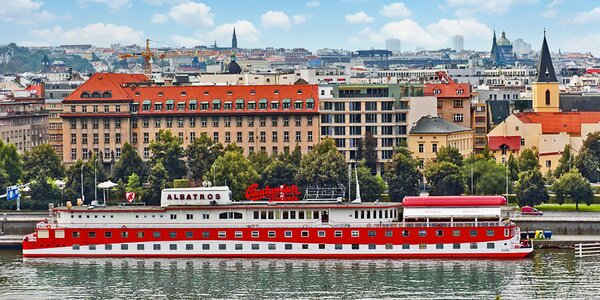 Romantika na vlnách Vltavy v srdci Prahy