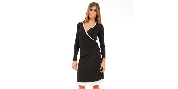 Dámská černo-bílá sukně Conquista
