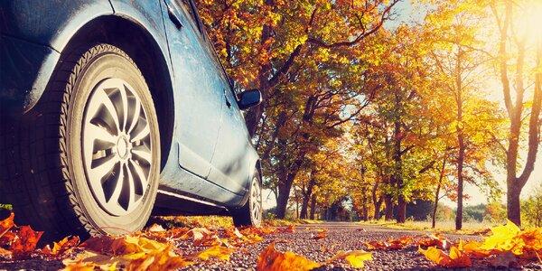 Laserová geometrie auta pro bezpečnou jízdu
