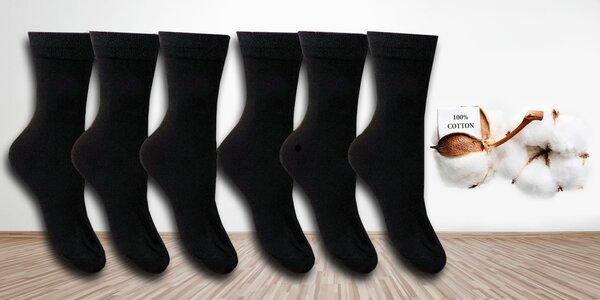 Klasické vysoké bavlněné ponožky pro muže i ženy