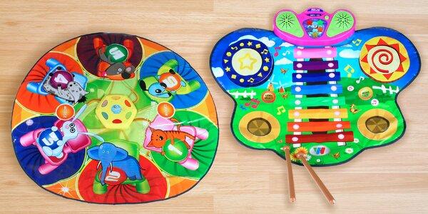 Interaktivní hrací koberec