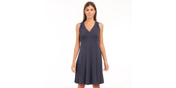 Dámské tmavě modré šaty Conquista