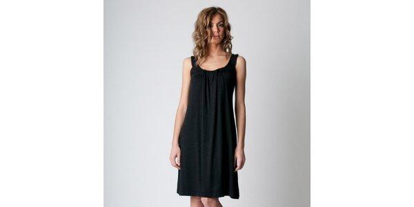 Dámské černé šaty Conquista