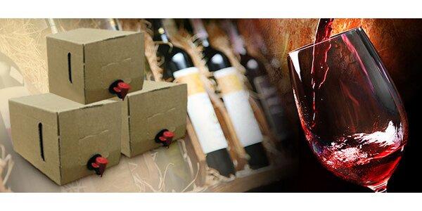 10 litrů vína BiB na party i na dovolenou
