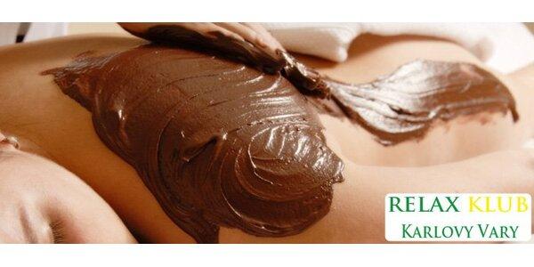 295 Kč za božskou čokoládovou masáž v Relaxklubu Karlovy Vary