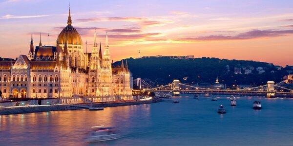 Zájezd do romantické Budapešti se snídaní