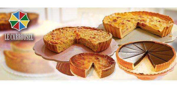 Francouzské dorty a koláče z Le Carrousel