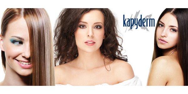Zdravé vlasy a pokožka díky ošetření Kapyderm