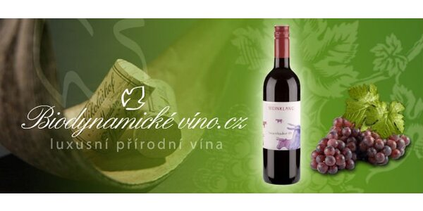174 Kč za láhev biodynamického vína - Burgenlandské červené!
