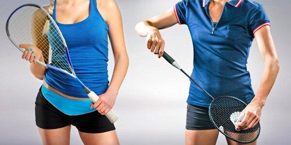 Permanentka na squash nebo S-badminton