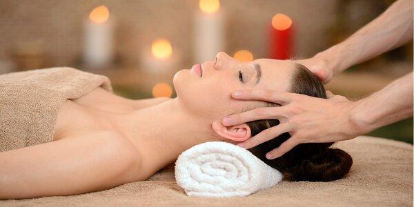 Hýčkající balíček lymfatických masáží se zábalem