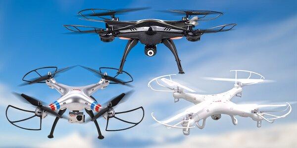 Dron pro pořízení leteckých snímků a videí