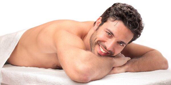 Balíček luxusní péče pro muže: masáž a pedikúra