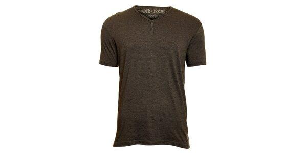 Pánské tmavě šedé tričko Chaser