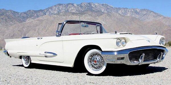 Jízda v legendárním kabrioletu Ford Thunderbird