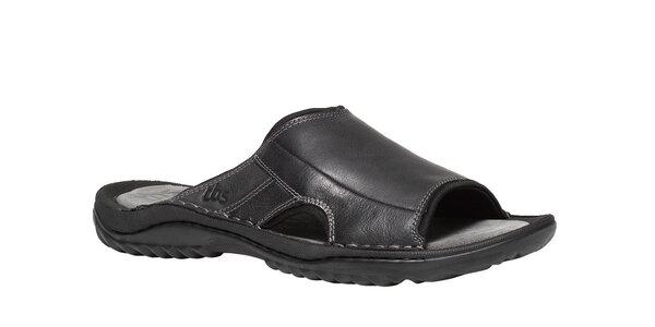 Pánské černé pantofle TBS